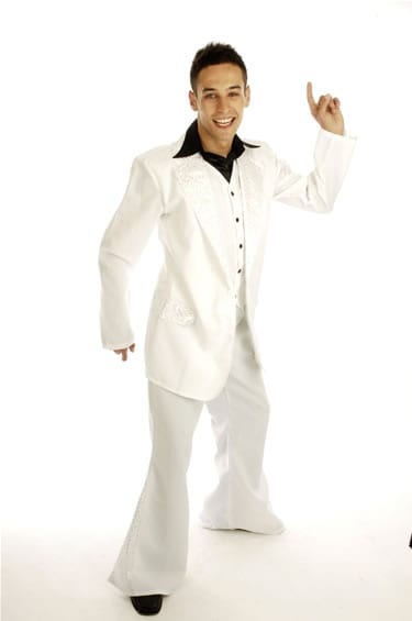 Disco King Mens Fancy Dress Costume