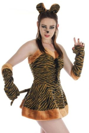 Tigress Ladies Fancy Dress Costume