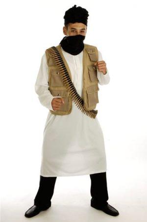 Desert Warrior Mens Fancy Dress Costume (DISC