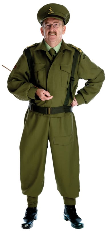 British Home Guard Men's Fancy Dress Costume