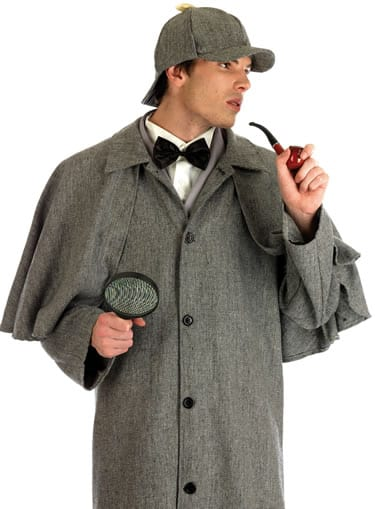 Victorian Detective (Sherlock) Men's Fancy Dress Costume