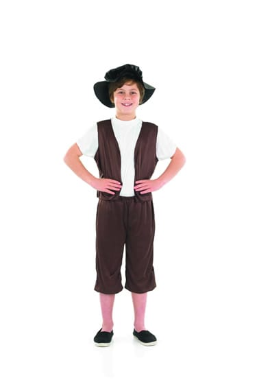 Tudor Boy Children's Fancy Dress Costume
