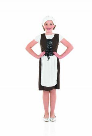 Tudor Girl Children's Fancy Dress Costume