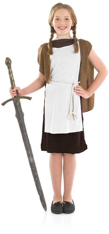 Viking Girl Children's Fancy Dress Costume