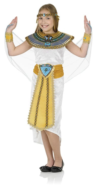 Egyptian Girl Children's Fancy Dress Costume-0