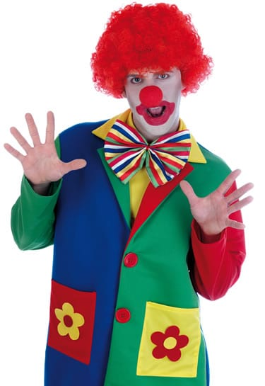 Clown Mens Fancy Dress Costume