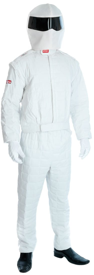 Racing Driver (The Stig) Mens Fancy Dress Costume