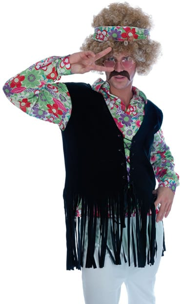 Hippie Guy Mens Fancy Dress Costume