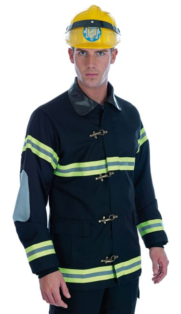 Firefighter Men's Fancy Dress Costume