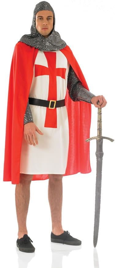 Crusader Knight Men's Fancy Dress Costume