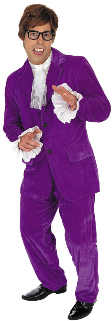 60's Gigolo (Austin Powers) Men's Fancy Dress Costume