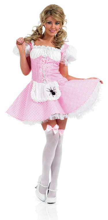 Miss Muffet Ladies Fancy Dress Costume
