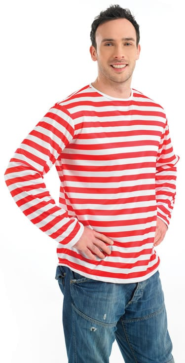 Red/White Striped (Wally) Jumper