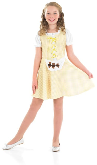 Goldilocks Children's Fancy Dress Costume-0