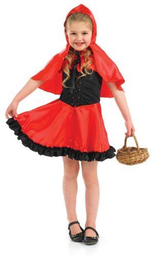 Red Riding Hood Children's Fancy Dress Costume-0