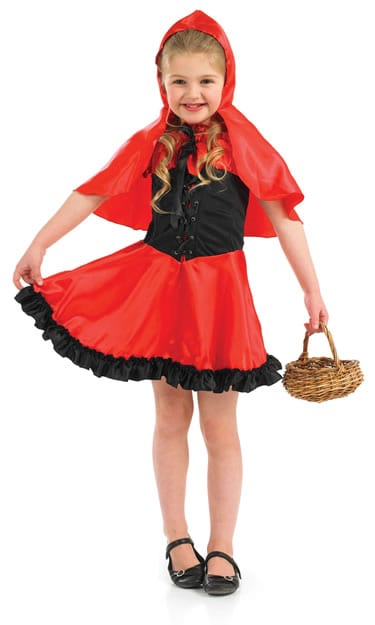 Red Riding Hood Children's Fancy Dress Costume-0