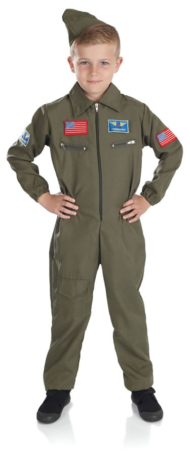 Army Cadet Boy Children's Fancy Dress Costume