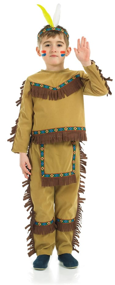 Indian Chief Children's Fancy Dress Costume