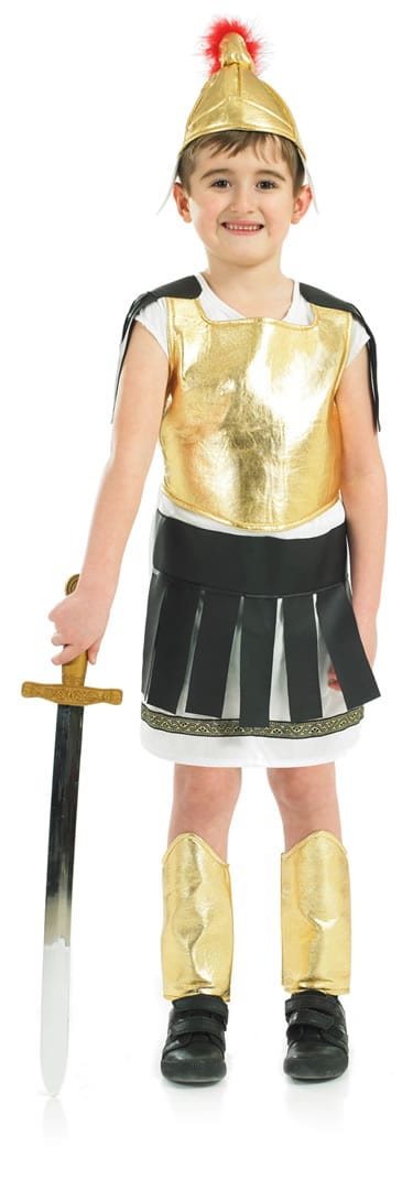Roman Warrior Children's Fancy Dress Costume