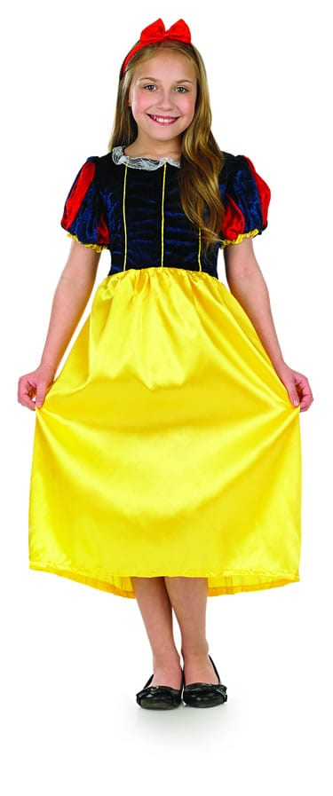 Snow White Children's Fancy Dress Costume