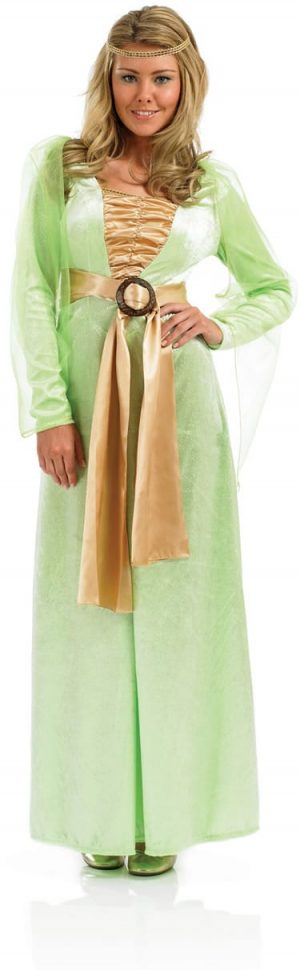 Medieval Lady Ladies Fancy Dress Costume