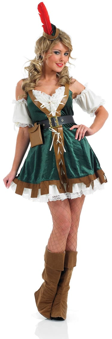 Sexy Robin Hood Ladies Fancy Dress Costume