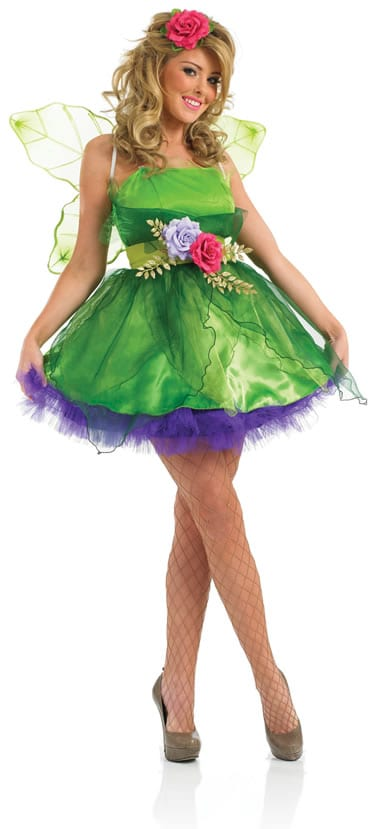 Fairy Nymph Ladies Fancy Dress Costume