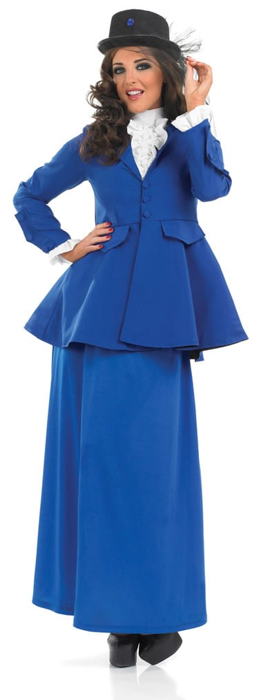 Victorian Lady (Poppins) Ladies Fancy Dress Costume