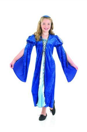 Merchant's Daughter Children's Fancy Dress Costume