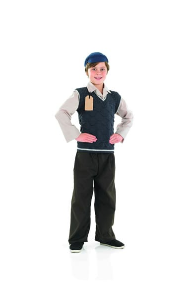 Evacuee Schoolboy Children's Fancy Dress Costume