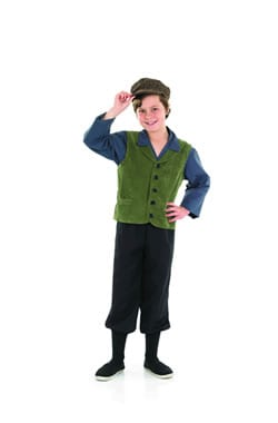 Victorian School Boy Children's Fancy Dress Costume