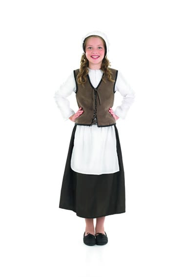 Tudor Kitchen Girl Children's Fancy Dress Costume