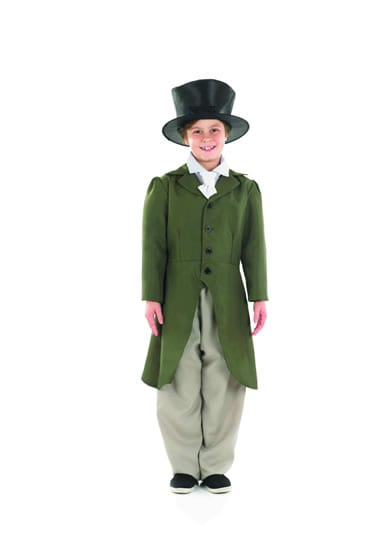 Regency Boy Children's Fancy Dress Costume