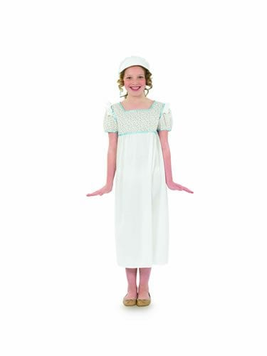 Regency Girl Children's Fancy Dress Costume