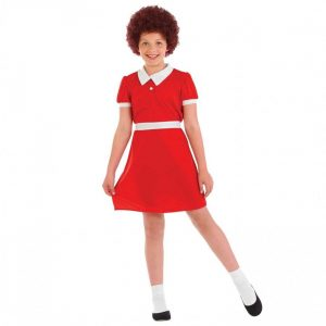 Little Orphan (Annie) Children's Fancy Dress Costume