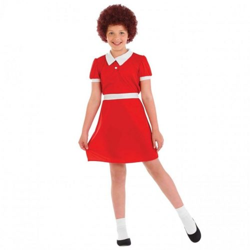 Little Orphan (Annie) Children's Fancy Dress Costume