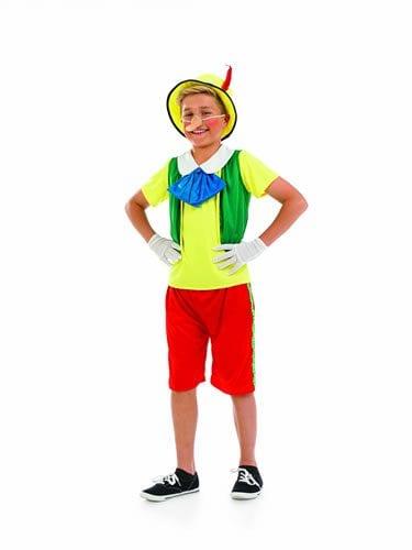 Fairytale Puppet (Pinocchio) Children's Fancy Dress Costume