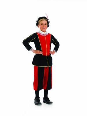 Tudor Boy Children's Fancy Dress Costume