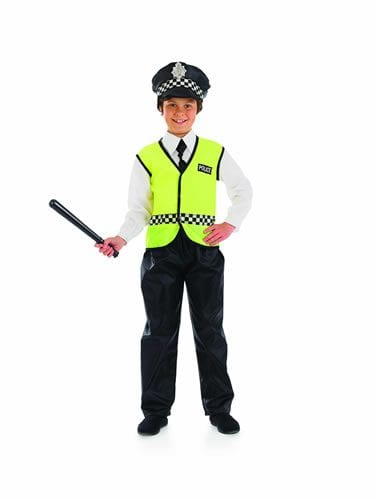 Policeman Children's Fancy Dress Costume