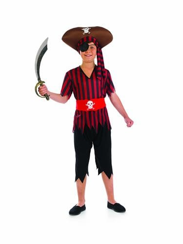 Pirate Children's Fancy Dress Costume