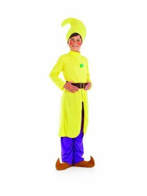 Yellow Dwarf Children's Fancy Dress