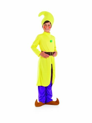Yellow Dwarf Children's Fancy Dress