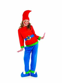 Blue Dwarf Children's Fancy Dress Costume
