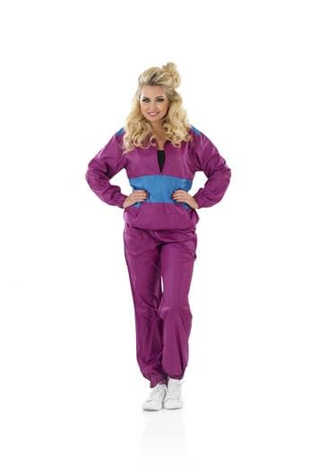 Shell Suit Ladies Fancy Dress Costume
