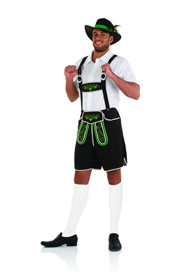 Bavarian Man Men's Fancy Dress Costume (NEW)