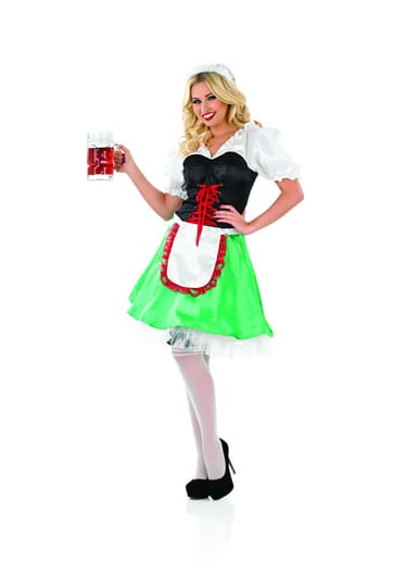 Sexy Bavarian Girl Ladies Fancy Dress Costume
