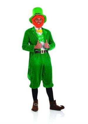 Leprechaun Men's Fancy Dress Costume