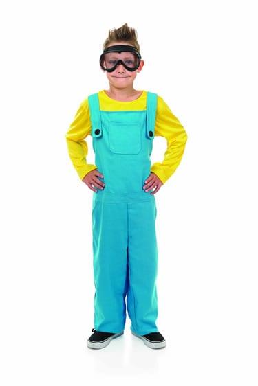 Little Welder's Boy (Minion) Children's Fancy Dress Costume