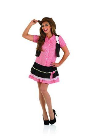 Cute Cowgirl Ladies Fancy Dress Costume