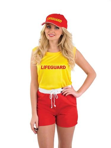 Lifeguard ladies Fancy Dress Costume